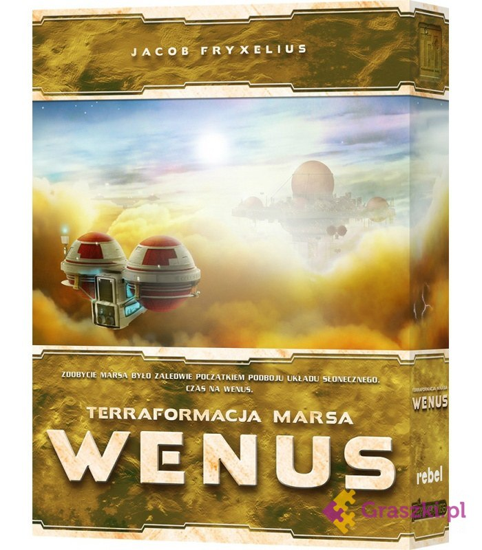 Terraformacja Marsa: Wenus | Rebel